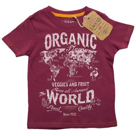 E.Bound T.Skjorte  Organic World