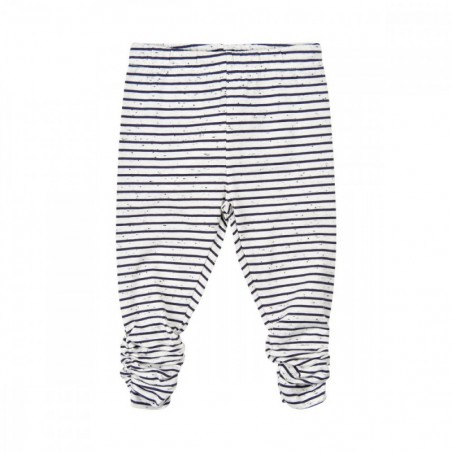 Minymo Leggings stripes White