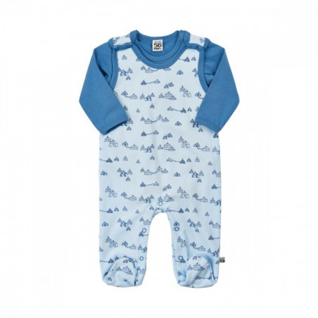Pippi Romper & Body Skyway