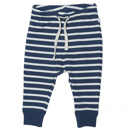 EBBE Bukse Expo Denim Blue Stripe