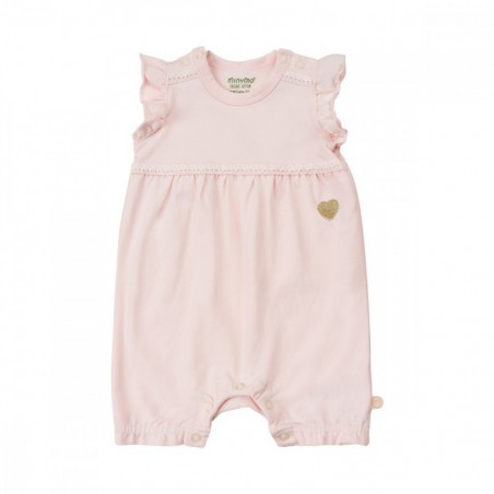 Minymo Romper  Rose Cloud