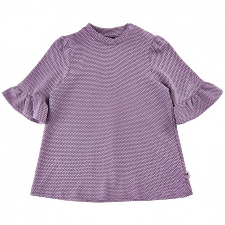 Me Too Tunic Lavender Gray