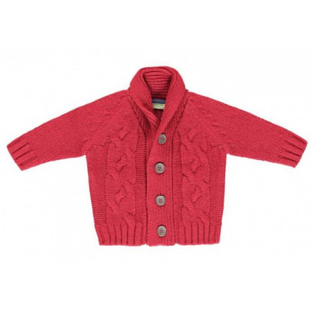Tricky Tracks Baby knitted cardigan
